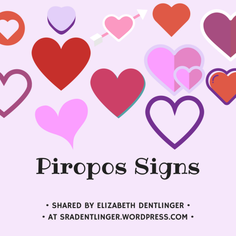 Piropos Signs | Shared by Elizabeth Dentlinger at SraDentlinger.wordpress.com